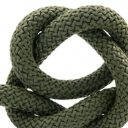 Maritiem koord 10mm Khaki green